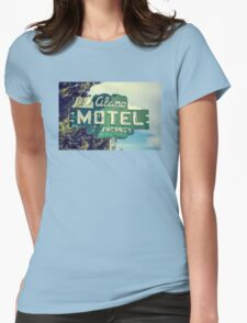 Alamo Hotel Womens Fitted T-Shirt