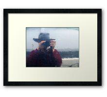 Shipside mirror (2) Framed Print