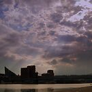 Storm Almost Over on the Ohio River by Phil Campus