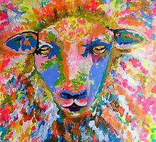 Ready for shearing by TraceyMackieArt