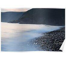 Newgale, high tide Poster