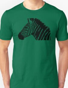 Zebra in black and white Unisex T-Shirt