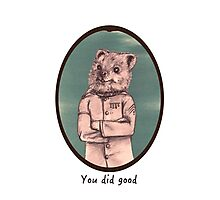 Quokcop - you did good Photographic Print