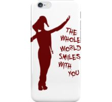 The Whole World Smiling - Harley iPhone Case/Skin