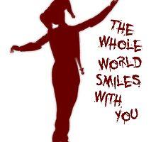 The Whole World Smiling - Harley by JoeWehnert