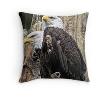 Bald Really IS Beautiful!! Throw Pillow