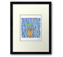 Rain Dancer Framed Print