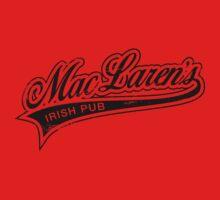 MacLaren's Pub_Black One Piece - Long Sleeve