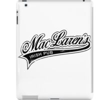 MacLaren's Pub_Black iPad Case/Skin