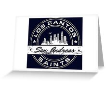 Los Santos City Greeting Card