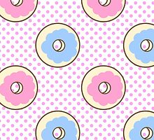Donut Pattern by LazyQueen