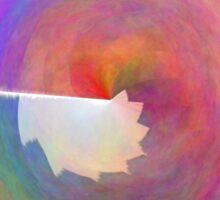 Wacky Rainbow Sticker