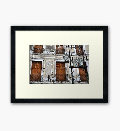 Calle 65 Framed Print