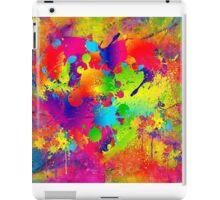 Splattered paint. Abstract background. iPad Case/Skin