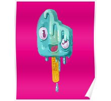 Melty Popsicle Poster