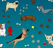 Collection of Dogs by Lisa Richmond