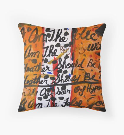 All Heather Should Be Burned Throw Pillow