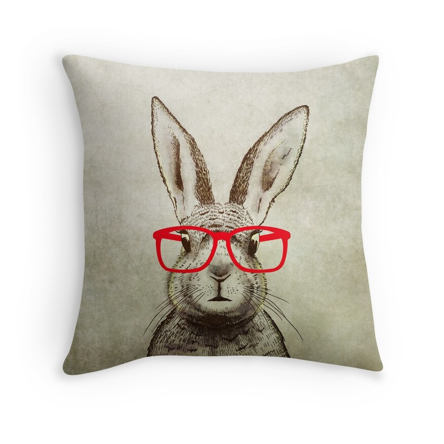 Quirky Throw Pillow :