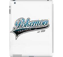 Pokemon Trainer_Blue_Vintage iPad Case/Skin