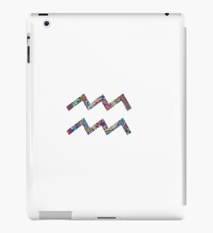 Aquarius Star Sign iPad Case/Skin