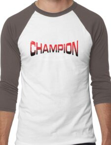 Pokemon Champion_Red_DarkBG Men's Baseball ¾ T-Shirt