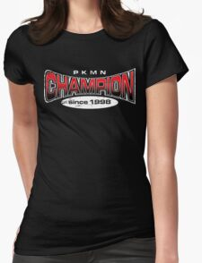 Pokemon Champion_Red_DarkBG T-Shirt