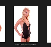 Glamour Tryptych by Julie-anne Cooke Photography