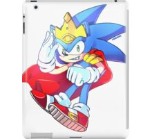 King Sonic the Hedgehog iPad Case/Skin