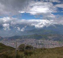 View of Quito from Cruz Loma by Paul Duckett