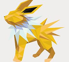 Origami Jolteon by Lisa Richmond