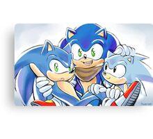 Sonics Canvas Print