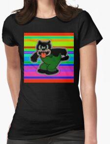 Creech Cat Womens Fitted T-Shirt