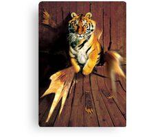 Tiger Wreckage Canvas Print