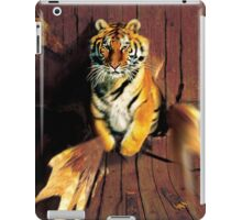 Tiger Wreckage iPad Case/Skin