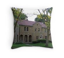 The Alamo House Throw Pillow