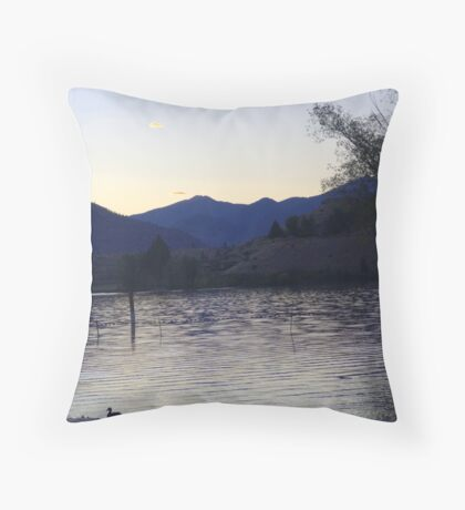 Wapato Lake Throw Pillow