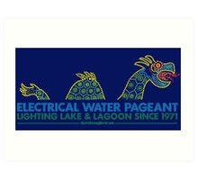 Retro Walt Disney World Electrical Water Pageant Art Print