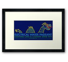 Retro Walt Disney World Electrical Water Pageant Framed Print
