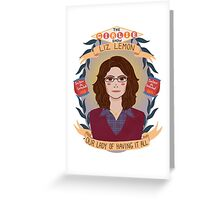 Liz Lemon Greeting Card