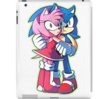 Sonic and Amy Rose (Sonamy) iPad Case/Skin