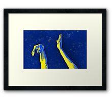 Flick of da' Wrist Original Framed Print