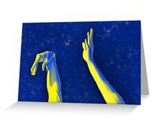 Flick of da' Wrist Original Greeting Card