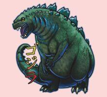 Godzilla Chibi One Piece - Short Sleeve