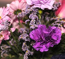 Bouquet Of Flowers by Kathleen Struckle