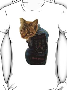 Iron Maiden Cat T-Shirt