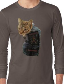 Iron Maiden Cat Long Sleeve T-Shirt