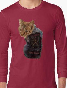 Iron Maiden Cat Long Sleeve T-Shirt