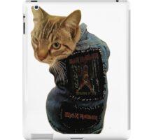 Iron Maiden Cat iPad Case/Skin