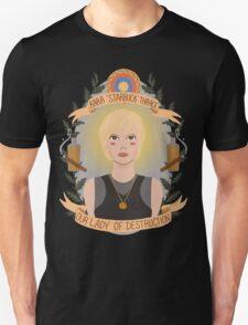 Kara Thrace Unisex T-Shirt