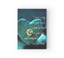 Put a Ring Hardcover Journal
